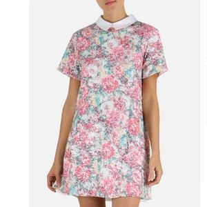 Endless Rose Dresses - Endless Rose sequin collar mini dress